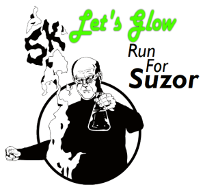 Lets Glow Run for Suzor